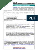 Charla Integral SSSE 157 - Importancia de La Receta Para El Cuidado de Manos