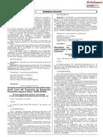 Aprueban los Lineamientos para la supervisión y fiscalización de las Juntas de Usuarios