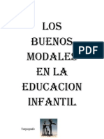 Los Buenos Modales, Educacion Infantil