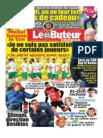 Journal Le Buteur 29.01.2018