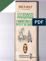WOLF, Eric - Sociedades Camponesas