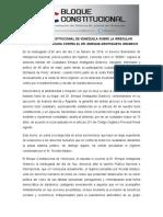 Manifiesto Definitivo. Detención Del Dr. Enrique Aristiguieta Gramcko
