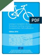 European Cycling Lexicon