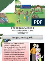 Ppt Refreshing Kader Susi