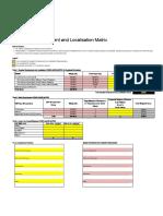 ANNEXURE I - Supplier Development and Localisation Matrix