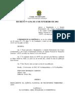 Decreto nº 4.130-2002