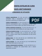 Códigos Arcturianos - Comandos de Ativação
