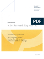 Employment Effects of Foreign Direct Investment in Central and Eastern Europe Dlp 348
