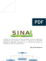 Estructtura Institucional y Competencias Legales Para El Manejo Ambiental en Colombia