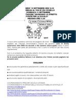CPS Catania- Volantino manifestazione Messina 12 settembre