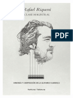 Rafael Riqueni. Partituras - Tablaturas