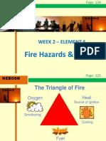 IGC2 Elem 5 (Fire Hazards and Controls)