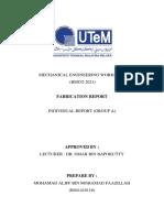 Fabrication Report