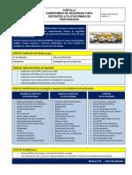 B.- SGI-PG-03-6 Cartilla de Visita a Plataforma de Perforación Version 1