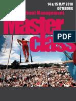 Göteborg Festival and Event Management Masterclass