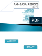 Presentasi ASAM-BASA,REDOKS
