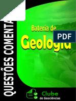 QUESTÕES GEOLOGIA COMENTADAS CONCURSO CLUBE DE GEOCIÊNCIAS