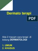 Dermato Terapi Dan Infeksi Menular Seksual