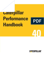 40th Caterpillar Performance Handbook