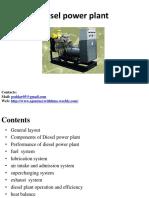 DieselPower Plant