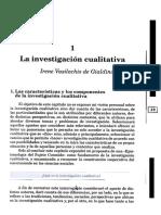 1 .. La Investigación Cualitativa
