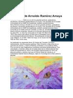 Biografía de Arnoldo Ramírez Amaya