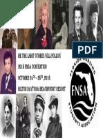 FNSA Convention Flier