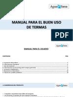 Manual Para El Uso de Termas Digital de Ahorro - Clientes
