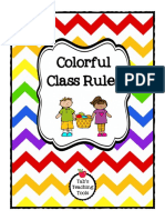 Colorful Class Rules