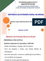 Historico Da Extensao Rural No Brasil 2016