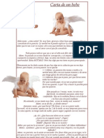 Carta de un bebe abortado