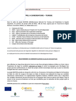 Appel a Candidature Tunisie-fr