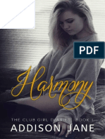 01 Harmony Série the Club Girl Diaries Addison Jane