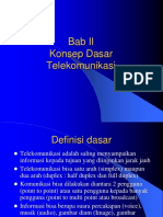 BAB 2 Prinsip Telekomunikasi