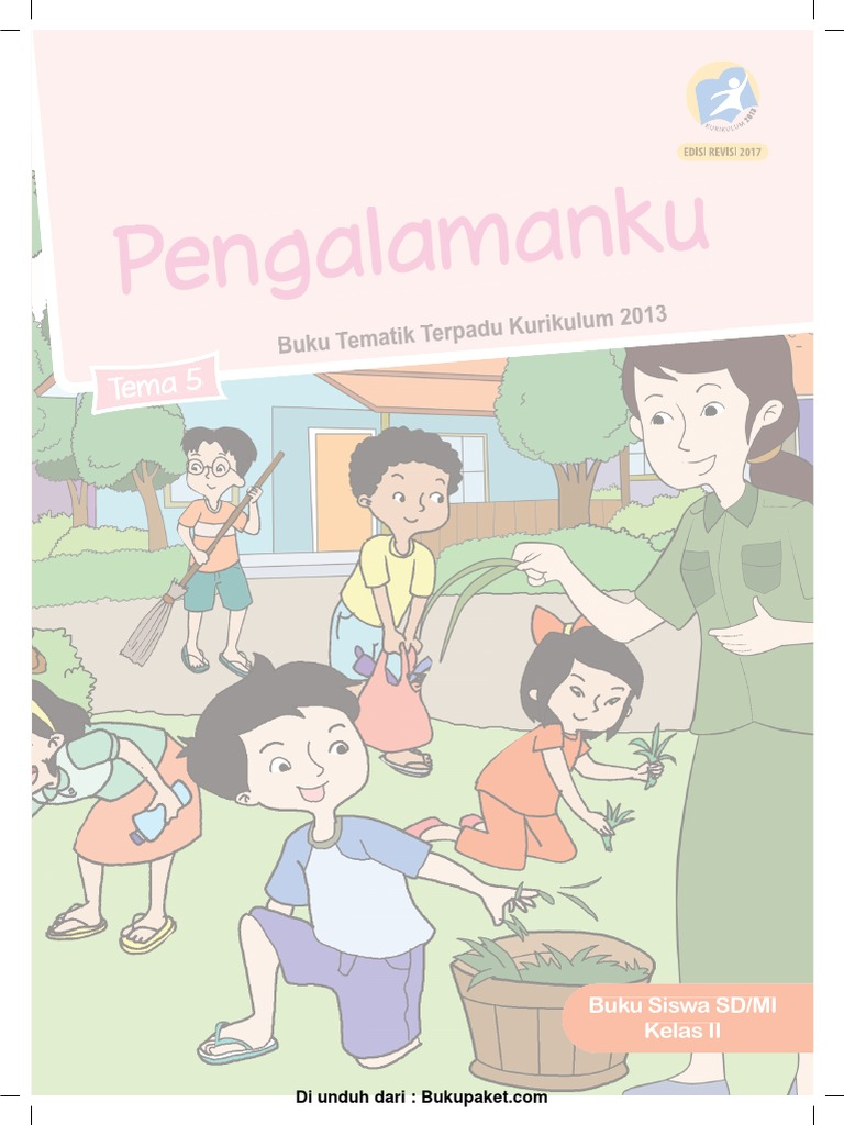 Buku Siswa Kelas 2 Tema 5 Revisi 2017