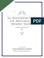 La Discriminación a Los Mexicanos en Estados Unidos