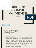 CHAPTER 2.1 Strategic Financial Management