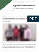 Mogi Anuncia Retorno Do Volante Magal e Acerta Saída de Álvaro Gaia Do Comando _ Mogi Mirim _ Globoesporte