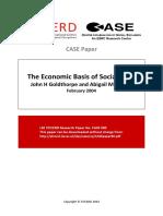 Goldthorpe, John. the Economic Basis of Social Class
