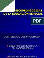 Educación Especial Clase 1