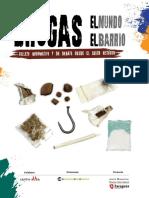 Folleto del Ayuntamiento de Zaragoza sobre drogas