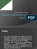 Roles y Estatus en Los Grupos