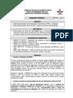 33 - PT 001-2010  Laudo de estanqueidade da rede de GLP e análise de SPDA.pdf
