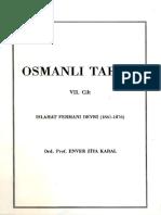 Enver Ziya KARAL - Osmanlì Tarihi - Islahat Fermanì Devri 1861-1876 - 7