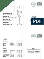 Final 606 Postcard Drink Menus