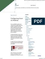 Configuring Snort on Pfsense - Mohammed Hamada