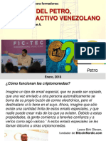 FORO EL PETRO Critpoactivo - Econ. Andrés Giussepe