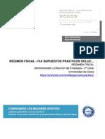 RÉGIMEN FISCAL - IVA SUPUESTOS PRÁCTICOS SOLUCIÓN - .pdf