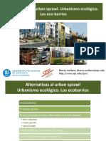 Urban Sprawl Urbanismo Ecológico Ecobarrios