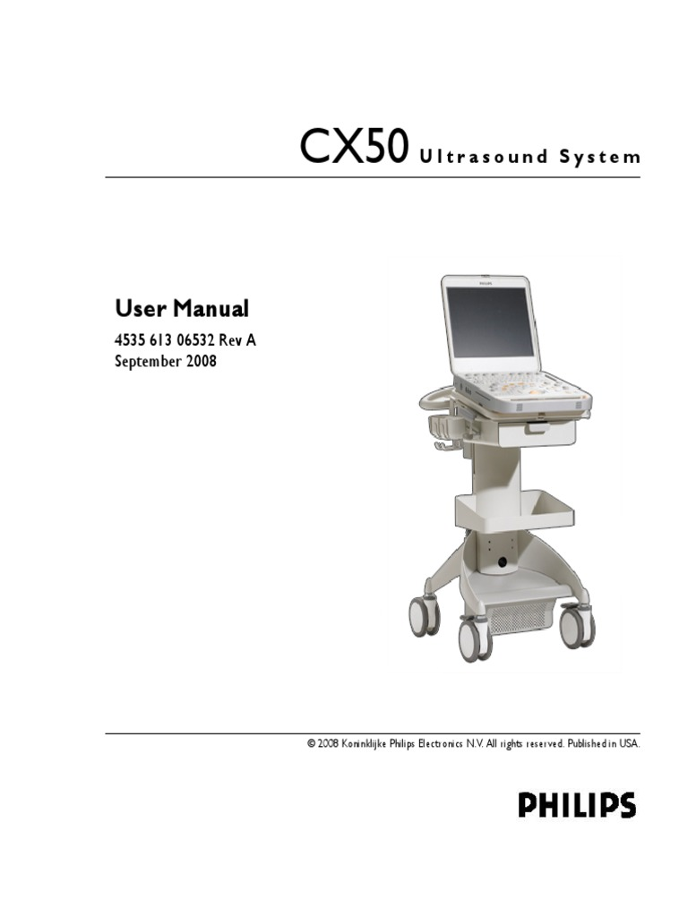 CX 50 Philip | Medical Ultrasound | Computer Network